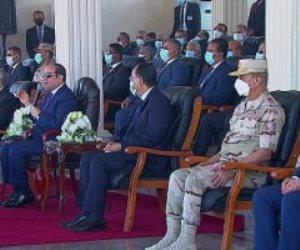 """الرئيس السيسى: نسعى لتغيير حقيقى لأهلنا فى الريف ضمن مبادرة """"حياة كريمة"""""""