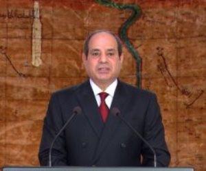 الرئيس السيسي: ثورة 30 يونيو ذكرى خالدة في وجداننا ومضيئة بتاريخ شعبنا