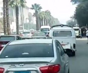 غلق جزئى بشارع الأهرام بالاتجاهين لمدة 3 أيام لتحويلات مرافق المترو تبدأ من الغد