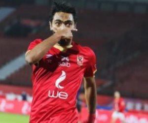 حسين الشحات يتعادل للأهلى فى شباك بيراميدز بالدقيقة 50.. فيديو