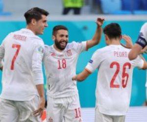 """ركلات الترجيح تحرم سويسرا """"ناقصة العدد"""" أمام إسبانيا من التأهل لنصف نهائي يورو 2020"""