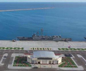 رفع العلم المصري على 47 قطعة بحرية تمهيدا بدخولها الخدمة بالقوات المسلحة