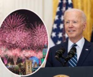 عروض ألعاب نارية ضخمة في احتفال أمريكا بعيد الاستقلال بعد إلغاءه العام الماضى بسبب كورونا