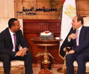"""حتى لا ينسى العالم.. عندما أقسم آبي أحمد من القاهرة """"لن أقوم بأي ضرر للمياه في مصر"""" (فيديو)"""