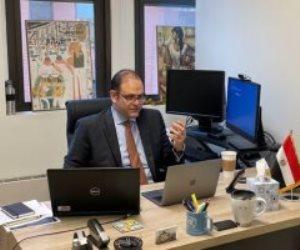 «رسوم بيانية تكشف الأضرار».. وفد مصر يقدم إحاطة لخبراء دول أعضاء مجلس الأمن حول السد الإثيوبي
