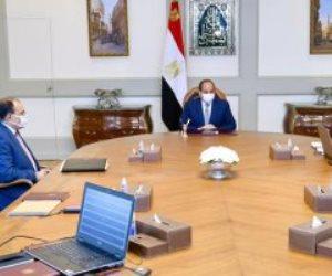 الرئيس السيسى يتابع الموقف الإنشائى والهندسى لعدد من مشروعات الهيئة الهندسية