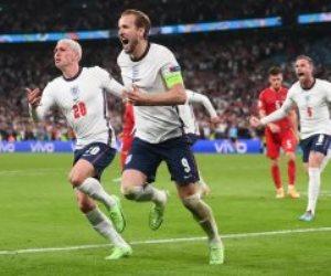 للمرة الأولى .. إنجلترا في نهائي يورو 2020 بفوز مثير على الدنمارك.. فيديو
