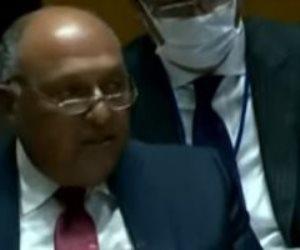 شكري أمام مجلس الأمن: تعنت أثيوبيا سبب فشل مفاوضات سد النهضة