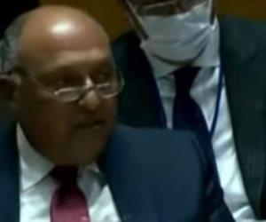 نص ترجمة غير رسمية لكلمة وزير الخارجية سامح شكري أمام مجلس الأمن بشأن سد النهضة