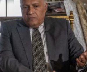 وزير الخارجية: عقد جلسة بمجلس الأمن لعامين متتاليين إنجاز لم يحدث من 75 عاما