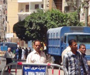 إحالة أوراق 6 متهمين للمفتى والمؤبد لـ37 فى أحداث عنف دلجا بالمنيا