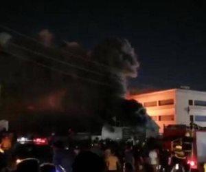 تطورات حريق مستشفي الحسين بالعراق.. أوامر باعتقال مسؤولين صحيين