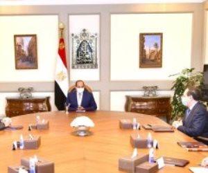 الرئيس السيسى يبحث تطوير التعاون مع أباتشى الأمريكية المتخصصة باستكشاف البترول