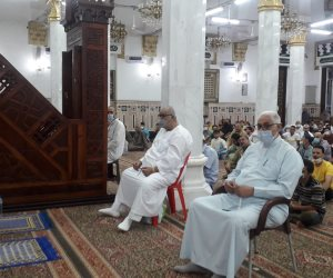 خطيب مسجد «السيدة نفيسة»: تعلمنا الإنفاق في عيد الأضحى.. وبعد المحنة «منحة»