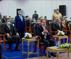 الرئيس السيسى: متابع كل مشروع بيتعمل وبنغير واقع الإسكندرية