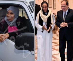 مروة العبد والحاجة صيصة وفتاة العربة: حياتنا اتغيرت.. وشكراً لرئيس مصر