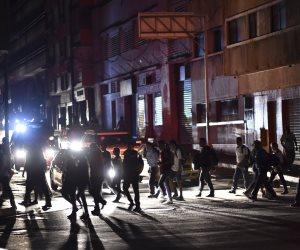 في ظلام دامس.. حريق غابات فرنسا يقطع الكهرباء عن إسبانيا