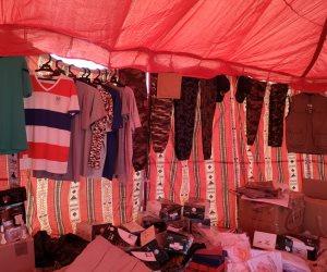 سوق تراثية لمستلزمات الإبل والمشغولات البدوية.. جولة في مهرجان سباق العلمين للهجن (صور)