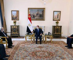 الرئيس يستقبل وزير خارجية الجزائر.. ويؤكد حرص مصر على تطوير العلاقات بين البلدين في شتى المجالات