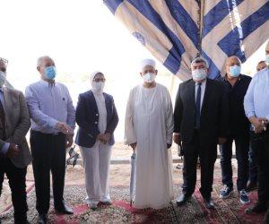شيخ الأزهر يستقبل وزيرة الصحة بالأقصر.. ويشيد بالنموذج الإنشائي لمستشفى القرنة