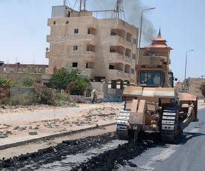 عجلة التنمية تصل عمق سيناء.. تنفيذ 3 محاور  لتطوير العريش وتحويلها لمدينة نموذجية وسياحية(صور)