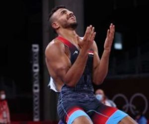 فخر مصر.. كيشو يخطف برونزية المصارعة في أولمبياد طوكيو