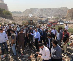 محافظ القاهرة: نقل 4756 أسرة من عزبة أبو قرن لوحدات مفروشة كاملة التشطيب