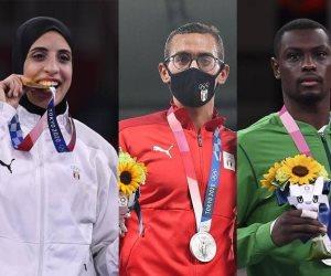 طوكيو 2020 تبتسم للعرب في أواخر أيامها.. مصر تحصد أول ذهبية والسعودية فضية في الكاراتية