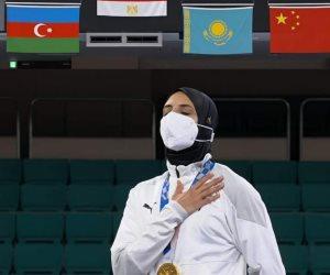 الرئيس يوجه بإطلاق اسم البطلة الأولمبية فريال عبد العزيز على محور بالتجمع الخامس
