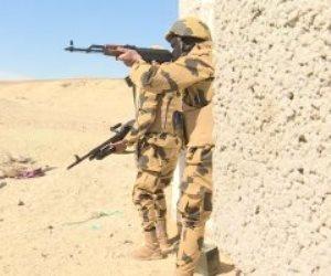 القوات المسلحة تقضى على 13 تكفيريًا بوسط وشمال سيناء