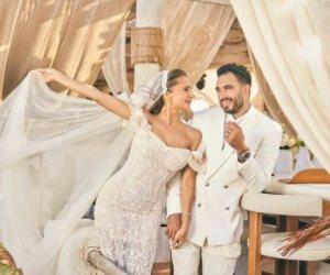 نيللي كريم تعلق على زواجها: شكرا لكل من جعل يومنا خاص ومميز (صور)