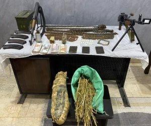 مصرع عنصرين إجراميين شديدي الخطورة في أسيوط وبحوزتهما أسلحة نارية وذخائر ومخدرات