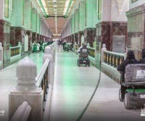 رئاسة الحرمين تفتح 4 مداخل إضافية لخدمة عربات التنقل بالمسجد الحرام.. صور