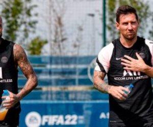 ميسي ونيمار خارج قائمة باريس سان جيرمان أمام بريست فى الدوري الفرنسي