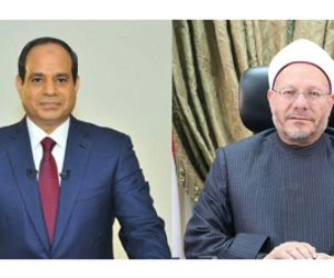 المفتي يكشف تفاصيل لقائه السيسي: الرئيس يريد تجديدا دينيا منضبطا