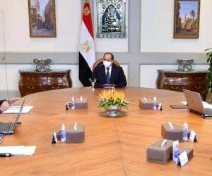 الرئيس السيسي يتابع أداء ونشاط هيئة قناة السويس والمشروعات الاستثمارية