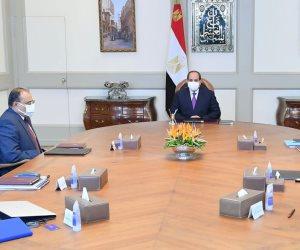 """الرئيس السيسى يتابع مشروع مستقبل مصر ضمن نطاق """"الدلتا الجديدة"""""""