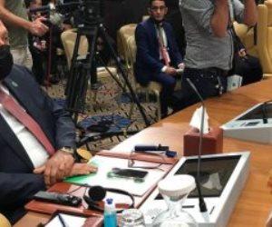 وزير الخارجية يؤكد ضرورة خروج القوات الأجنبية والمرتزقة من الأراضى الليبية
