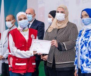 التضامن تطلق حملة الهلال الأحمر المصري للتوعية بالتبرع بالدم