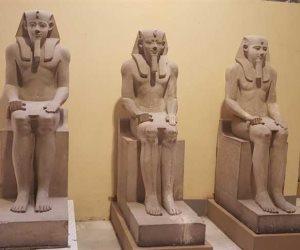 """قريبا..نقل 6 تماثيل للملك سنوسرت الأول ومائدة قرابين للملك منتوحتب الثانى من """"متحف التحرير"""" لـ""""المتحف الكبير"""""""