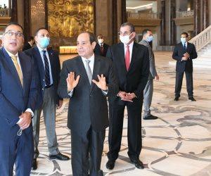 الرئيس السيسي: العمل الخيرى يمثل الوجه الحقيقى للفطرة الإنسانية السلمية