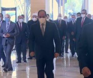 بث مباشر ..الرئيس السيسي يشهد احتفالية أبواب الخير بالعاصمة الإدارية