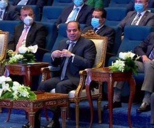 الرئيس السيسي: صندوق تحيا مصر تحت مسؤوليتي المباشرة و«مفيش جنيه بيطلع كده»