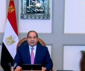 الرئيس السيسى: مصر وضعت خطة استراتيجية لتحقيق التنمية المستدامة