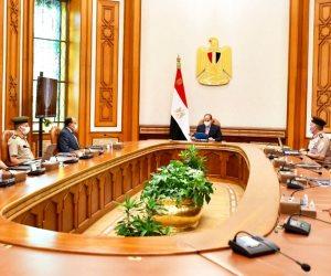 الرئيس السيسى يطلع على منشآت القيادة الاستراتيجية بالعاصمة الإدارية