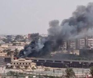 حريق محدود في فرع الأهلي بمدينة نصر