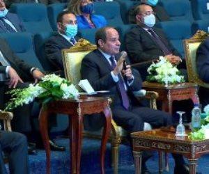 الرئيس السيسي: 2011 كان إعلان وشهادة وفاة لدولة.. وحركة التنمية الأساس لبناء حقوق الإنسان