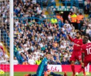 محمد صلاح يقود ليفربول للفوز على ليدز بثلاثية وتصدر الدوري الإنجليزي
