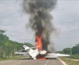 تحطم طائرة خفيفة على متنها إسرائيليان شرق اليونان