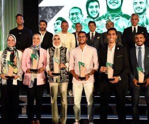 وزير الشباب ورئيس الأولمبية المصرية يشهدان احتفالية نادى زد لتكريم أبطال مصر فى أولمبياد 2020